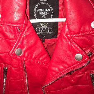 56240660e1cb92 jordan craig Jackets   Coats - Toddler size biker leather jacket
